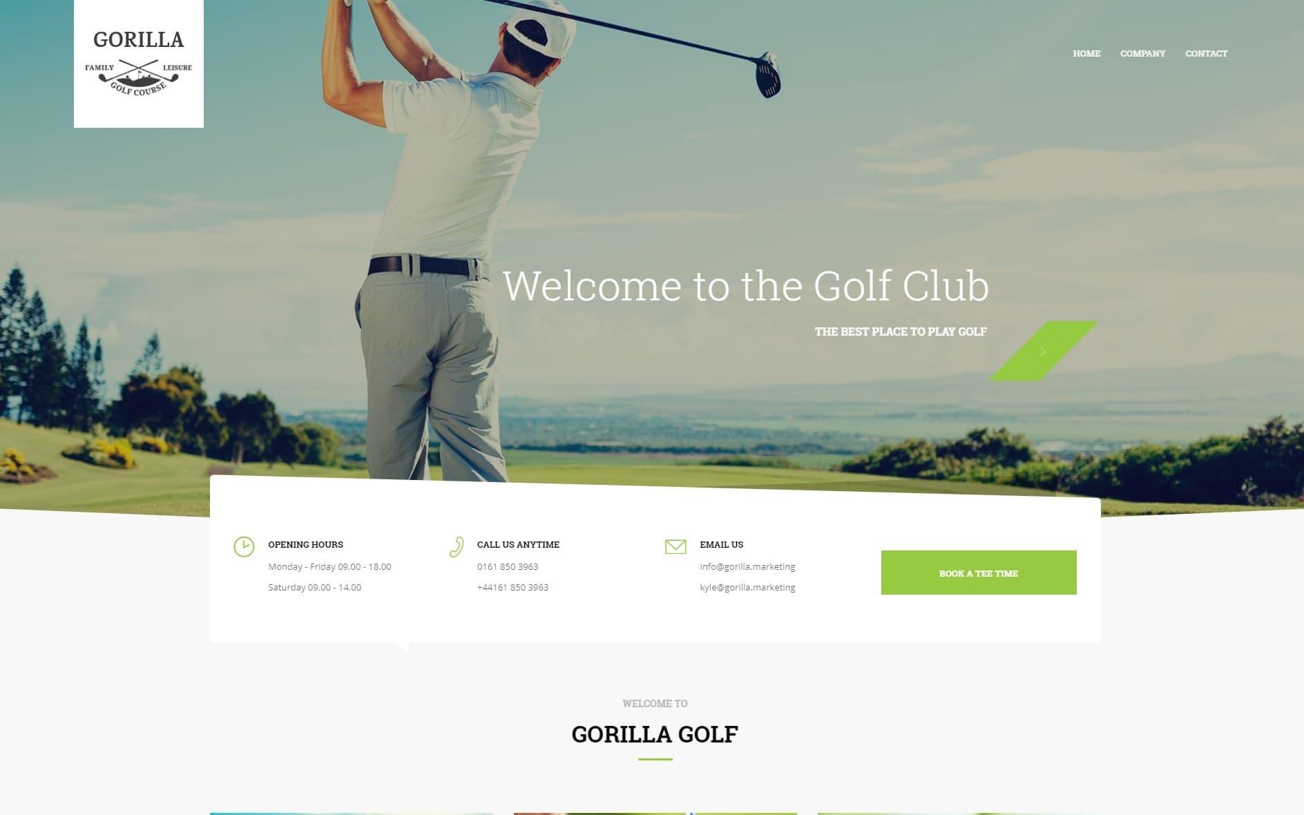 Gorilla Web Design Portfolio 12