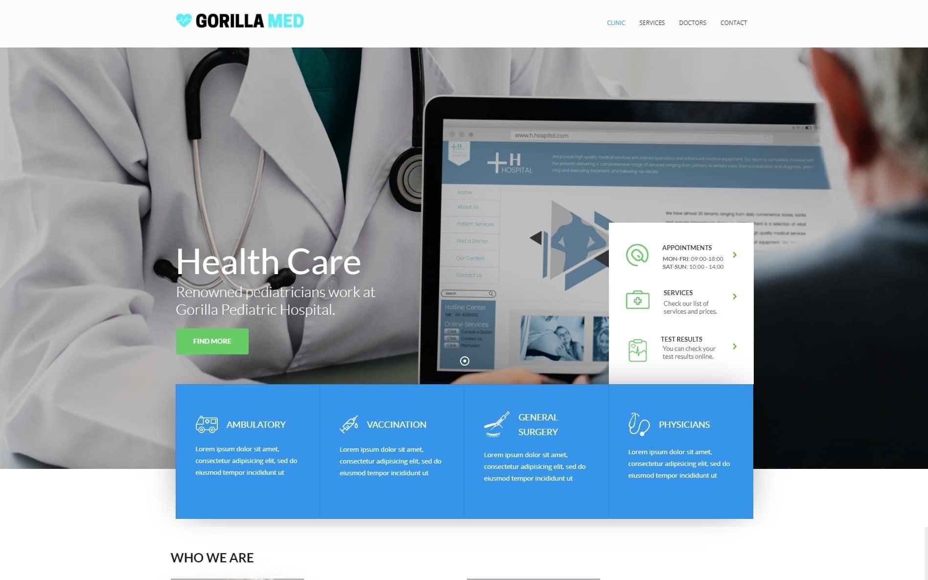 Gorilla Web Design Portfolio 15