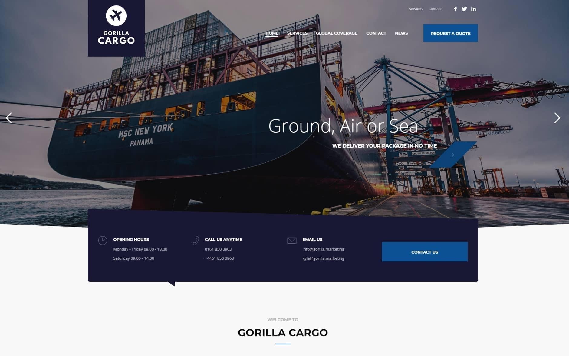 Gorilla Web Design Portfolio 16