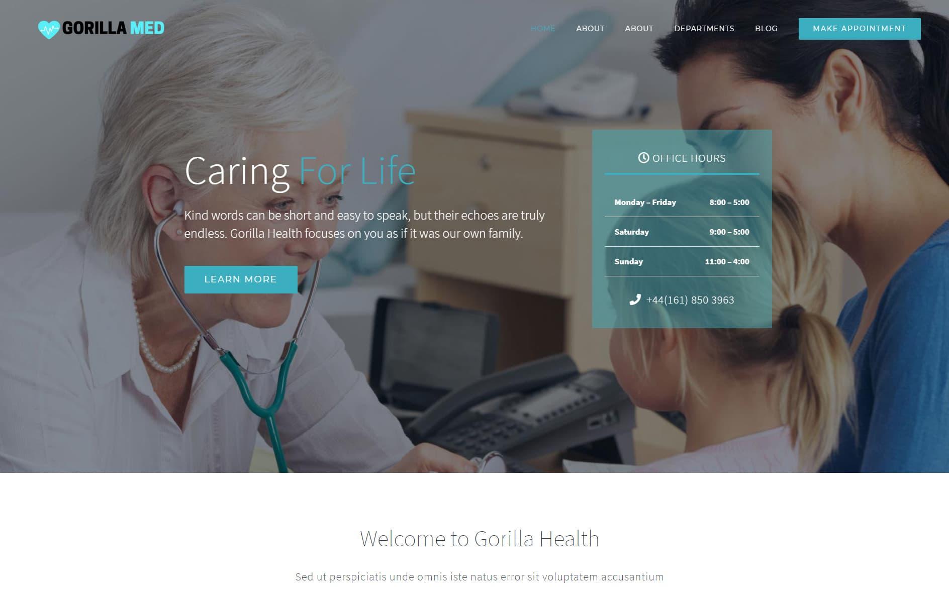 Gorilla Web Design Portfolio 5