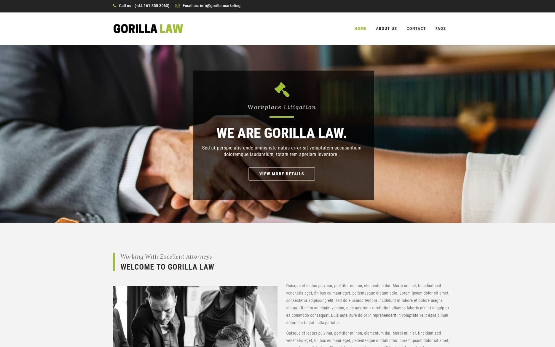 Gorilla Web Design Portfolio 8